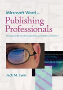 Microsoft Word for Publishing Professionals