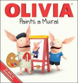 Olivia Paints a Mural (Olivia) [Board book]