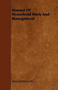 Manual of Household Work and Management