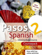 Pasos 2 Spanish Intermediate Course Pack [With 3 CDs and Support Books]