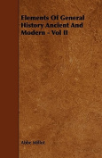 Elements of General History Ancient and Modern - Vol II