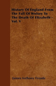 History of England from the Fall of Wolsey to the Death of Elizabeth - Vol. V