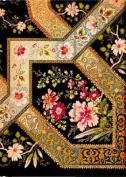 Filigree Floral - Ebony Address Book