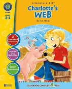 A Literature Kit for Charlotte's Web, Grades 3-4 [With 3 Overhead Transparencies]