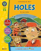 A Literature Kit for Holes, Grades 5-6 [With 3 Overhead Transparencies]
