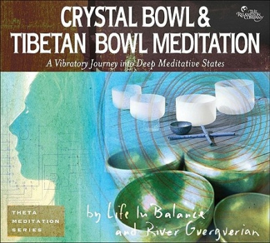 Crystal Bowl & Tibetan Bowl Meditation  : A Vibratory Journey Into Deep Meditative States (Theta Meditation)