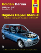 Holden Barina Australian Automotive Repair Manual