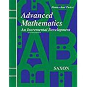Saxon Advanced Math Home Study Kit Second Edition