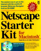 Netscape Navigator 3 Starter Kit for Macintosh