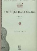 120 Right-hand Studies: Op. 1A