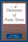 Dictionary of Poetic Terms