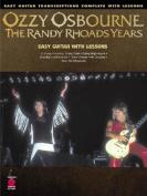 Ozzy Osbourne - The Randy Rhoads Years