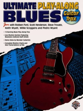 Ultimate Play-Along Guitar Trax Blues: Book & CD [With CD (Audio)]