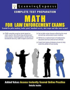 Math Skills for Law Enforcement Exams [With Access Code]