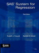 SAS System for Regression, Third Edition