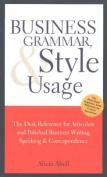 Business Grammar & Style Usage