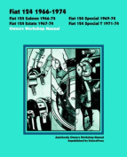 Fiat 124 1966-1974 Owners Workshop Manual