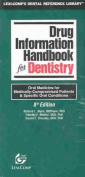 Drug Info Hbk for Dentistry 2003 8e