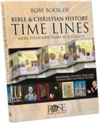 Rose Book of Bible & Christian History Time Lines  : More Than 6000 Years at a Glance