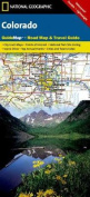 Colorado State Guide Map National Park