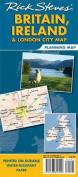 Rick Steves' Britain, Ireland & London City Map Planning Map