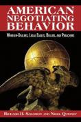 American Negotiating Behavior