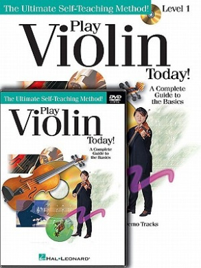 Play Violin Today! Beginner's Pack: Level 1 Book/CD/DVD Pack