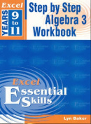 Excel Step by Step Algebra 3