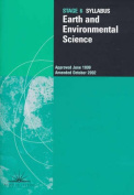 Earth and Environmental Science, Stage 6 - Syllabus