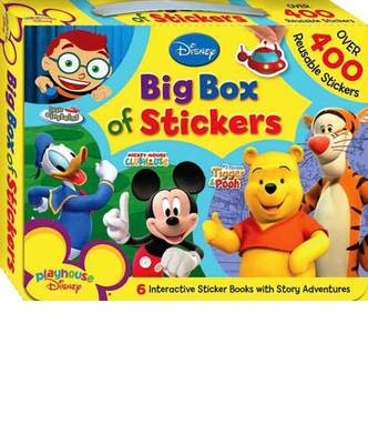 Playhouse Disney Big Box Of Stickers By Hinkler Books Shop Online