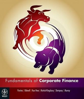 Fundamentals of Corporate Finance Australasian Edition