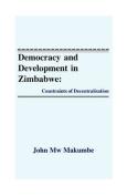 Democracy and Development in Zimbabwe