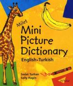 Milet Mini Picture Dictionary (Turkish-English)