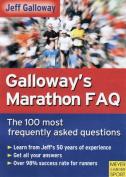 Galloway's Marathon FAQ