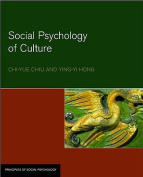 The Social Psychology of Culture
