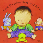 Head, Shoulders, Knees and Toes in Polish and English (Board Books) [Board book]