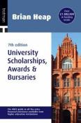 Brian Heap's University Scolarships, Awards and Bursaries