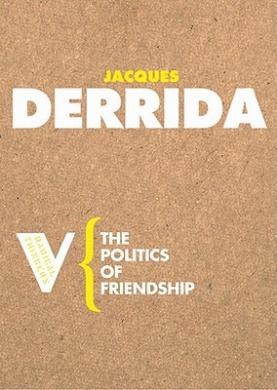 The Politics of Friendship