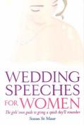 Wedding Speeches for Women