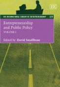 Entrepreneurship and Public Policy