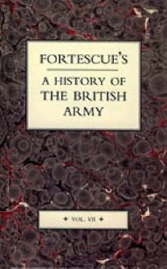 Fortescue's History of the British Army: v. 7