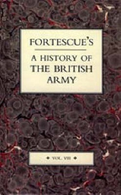 Fortescue's History of the British Army: v. 8
