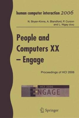 People and Computers: Proceedings of HCI 2006: v. 20: Engage