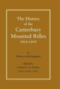 History of the Canterbury Mounted Rifles 1914-1919