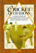 Cricket Quotations