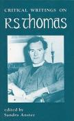 Critical Writings on R.S. Thomas