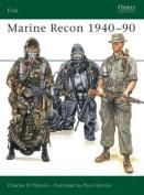 Marine Recon, 1940-90 (Elite)