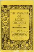 Miracle of Right Thought
