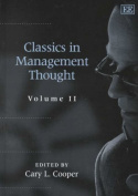 Classics in Management Thought