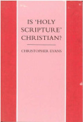 "Is ""Holy Scripture"" Christian?"
